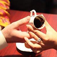 世博园内神奇占卜 土耳其咖啡灵异乍现