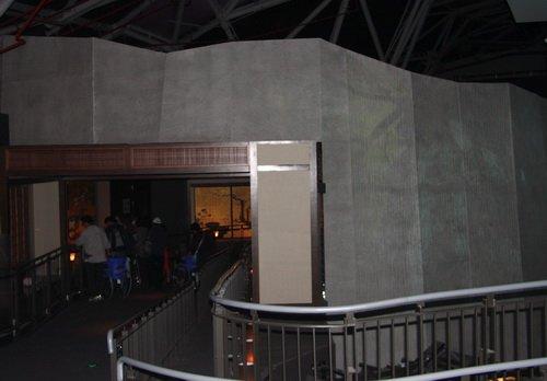 独特折叠纸张做屏幕 日本馆映现四季景色