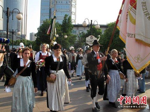 奥地利小镇音乐狂欢节带世博走进南京(图)