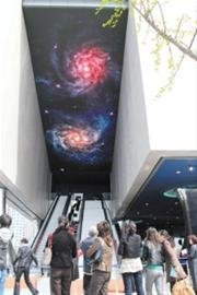 """太空家园馆:每个人都能体验""""月球漫步"""""""