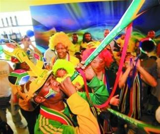 南非馆将送出世界杯决赛门票 等待幸运游客