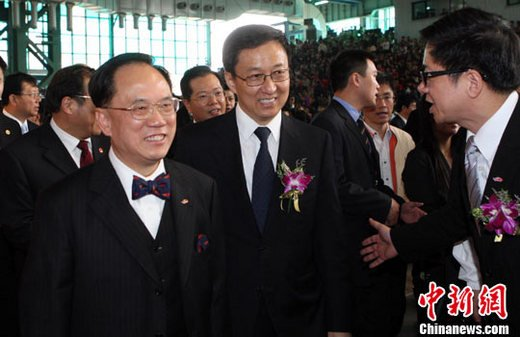 香港周众明星共呈艺术盛宴 麦兜老夫子同亮相