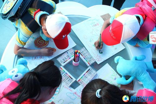 世博园六一节目单 育乐湾举办儿童慈善活动
