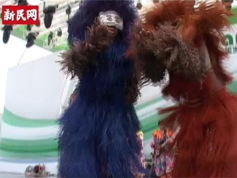 视频:巴西歌舞鼓点热情 面具男扭腰秀电臀舞