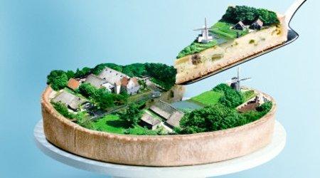 自给自足聪明屋 生态建筑似远还近
