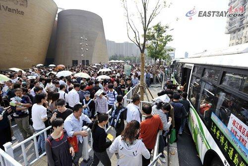 世博16日参观人数破百万 累计参观者破大阪纪录
