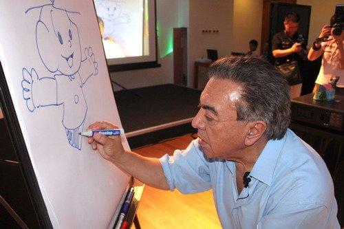 巴西独立日:毛利西奥与灾区小朋友共舞画笔