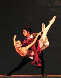 图文:多个芭蕾精品表演在宝钢大舞台举行