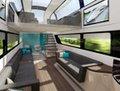 高清:英国未来列车似豪华公寓 时速362公里