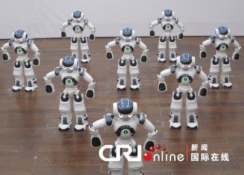 """机器人""""NAO""""21日将集体起舞庆法国馆日(图)"""
