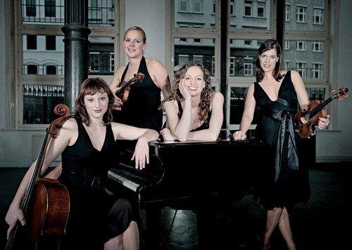 德国美女四重奏献演汉堡日点燃另类古典乐