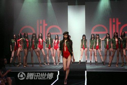 世界精英模特赛中国区总决赛举行 李玮婷夺冠