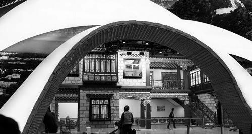 世博感受天上西藏 青藏铁路见证沧桑变迁(图)