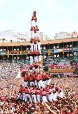 叠人塔将参加世博 西班牙人展现城市活力
