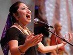 高清:世博会上热情洋溢的菲律宾歌舞表演