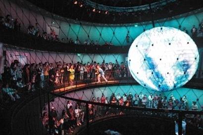 德国馆金属球:听声辨位花费超过百万欧元