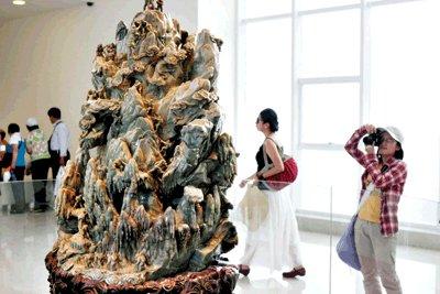 世博园国宝级文物展示扎堆浦西城市足迹馆