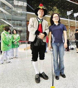 奥地利馆日:真人版茜茜公主将与观众见面