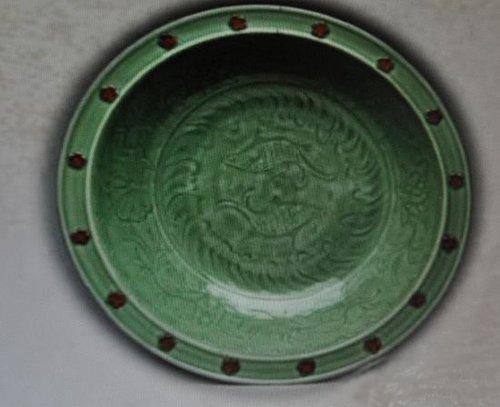 土耳其馆现元明龙泉青瓷图片 视频展中国瑰宝