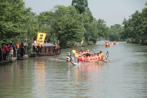 2010第三届杭州西溪国际龙舟赛即将开赛