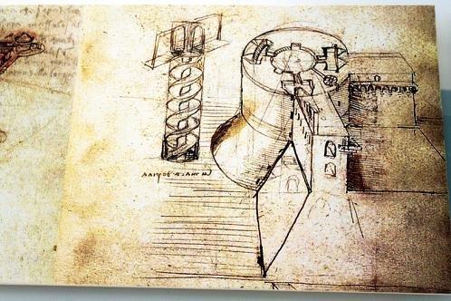达·芬奇建筑手稿惊世之作 超越艺术科学边界