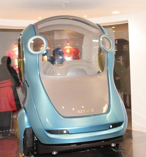 关于出行的疯狂猜想 汽车馆展未来城中生活