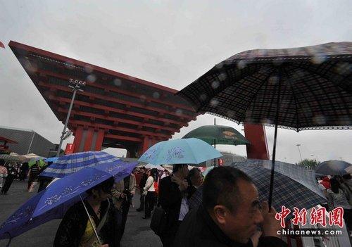 世博园易遭雷击 雷雨天游园须避开钢结构展馆