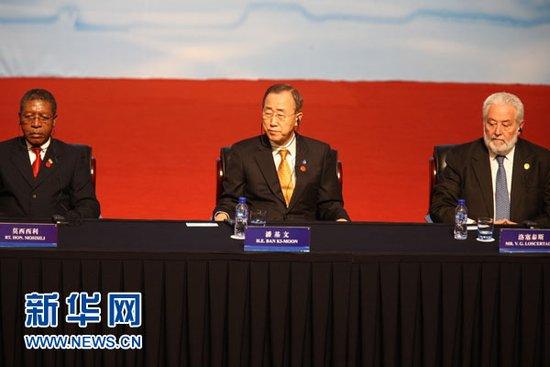 联合国秘书长:上海世博会给世界带来希望