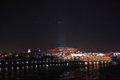 高清:人潮散去后世博园夜景 中国馆依旧璀璨