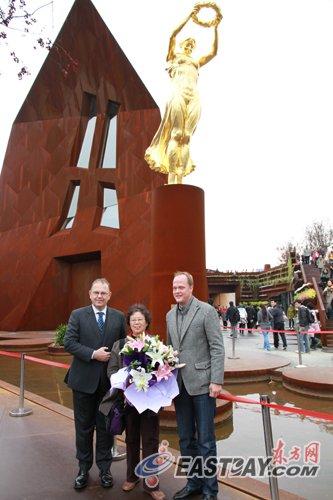 卢森堡馆游客破700万 上海游客获得特别礼包