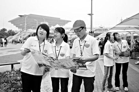 50名山西学生参观世博 中国馆前埋下梦想种子