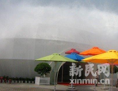 世博暑期清凉游 水景线路游园避高温(组图)