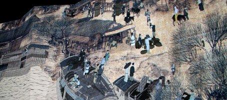 中国馆《清明上河图》