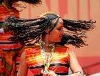 高清:厄立特里亚馆日活动 歌舞表演点燃激情