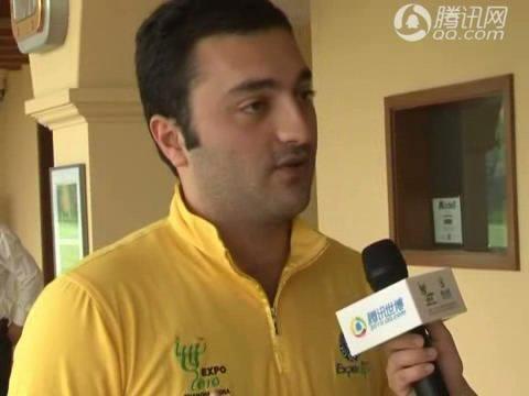 视频:阿塞拜疆馆体现世博主题 探讨城市生活