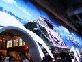 西藏馆感受京藏铁路
