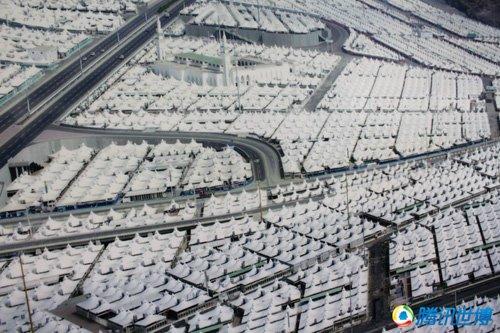 麦加案例馆揭秘帐篷城 4平方公里住300万人