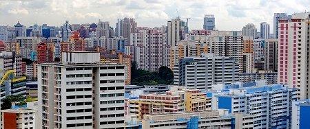 """""""摩天组屋"""":普通新加坡人的豪宅梦"""