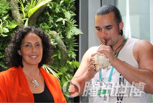 新西兰现代舞土著乐共庆9日国家馆日(组图)