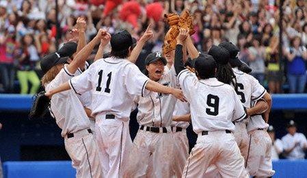 在日本,棒球與甲子園