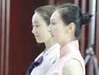 组图:揭秘韩国馆5大亮点 礼仪小姐甜美微笑