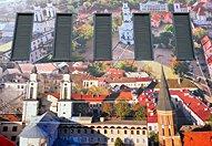 立陶宛馆坐热气球游览首都