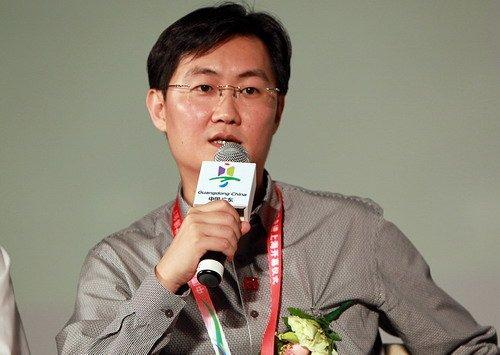 马化腾:浏览网上世博会体现节能环保