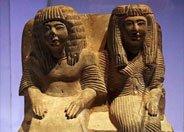 尼贝勒赫和巴克娜提双人坐像