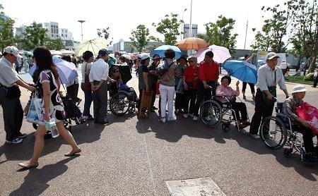 法国馆绿色通道需证件 德国馆轮椅客要预约
