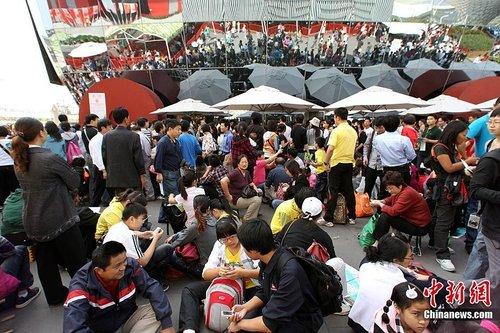 世博游客将达6000万 今日天气舒适适合观博