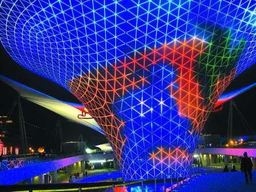 上海世博会助力LED照明三五年内进入百姓家