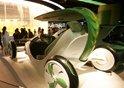 高清:中国馆内的叶子仿生电动车 显世博科技