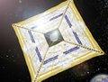 高清:日本风筝形飞船成功起航 纯太阳能驱动