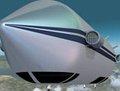 组图:世界最大飞艇升空 飞行高度2万英尺